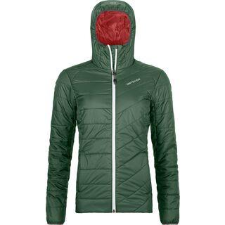 Ortovox Swisswool Piz Bernina Jacket W, green forest - Thermojacke