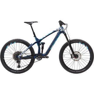 NS Bikes Snabb E 1 Carbon 2017, blue/white - Mountainbike