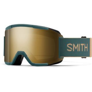 Smith Squad inkl. WS, spruce safari/Lens: cp sun black gold mir - Skibrille