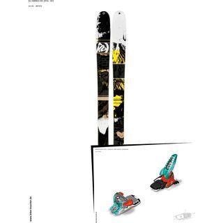K2 SKI Set: Annex 98 2014 + Marker Jester 18 Pro