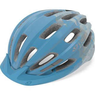 Giro Vasona, ice blue/floral - Fahrradhelm