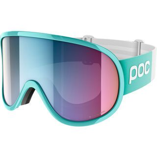 POC Retina Big Clarity Comp, tin blue/spektris pink - Skibrille