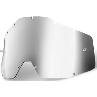 100% Racecraft/Accuri/Strata Replacement Lens, mirror silver