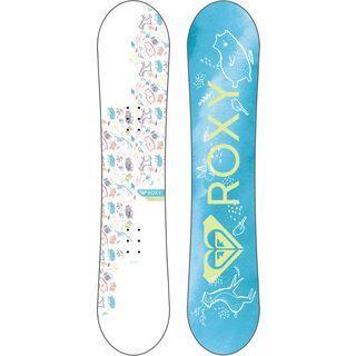 *** 2. Wahl *** Roxy Poppy Package 2019 - Snowboard-Set   Größe 110 cm
