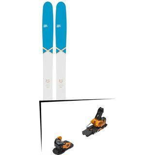 Set: DPS Skis Wailer 112 2016 + Salomon Warden MNC 13 (2212345)