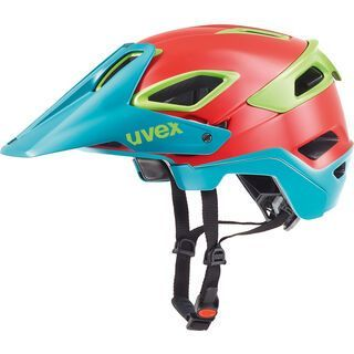 uvex Jakkyl, red-petrol mat - Fahrradhelm