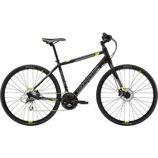 Cannondale Quick CX 4 2015, matte black/yellow - Fitnessbike
