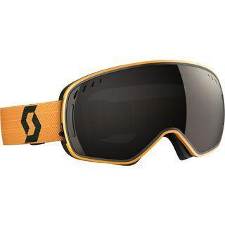 Scott LCG inkl. Wechselscheibe, black yellow/Lens: solar black chrome - Skibrille