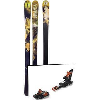 Set: Armada Invictus 89 Ti 2018 + Marker Kingpin 10 black/copper
