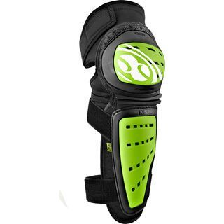 IXS Mallet Knee/Shin Guard, green - Knie/Schienbeinschützer