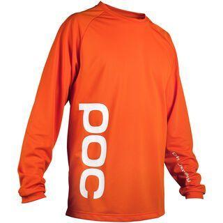 POC DH Jersey, corp orange - Radtrikot