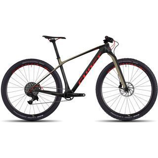 Ghost Lector X 8 UC 2017, black/red - Mountainbike