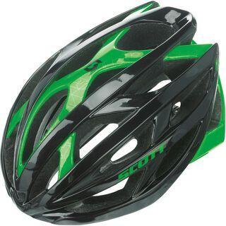 Scott Wit-R, black/green flash - Fahrradhelm