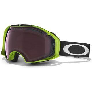 Oakley Airbrake, 80 Neon Green/Prizm Rose & Prizm Black Iridium - Skibrille