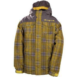 686 Boys Mannual Reid Insulated Jacket, Lava - Snowboardjacke