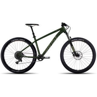 Ghost Asket 4 AL 2017, green/tan - Mountainbike