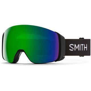 Smith 4D Mag inkl. WS, black/Lens: cp sun green mir - Skibrille