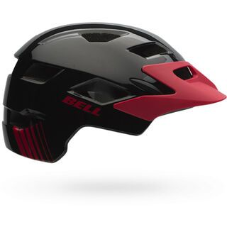Bell Sidetrack Youth MIPS, black red echo - Fahrradhelm
