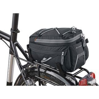 Vaude Silkroad, black - Gepäckträgertasche