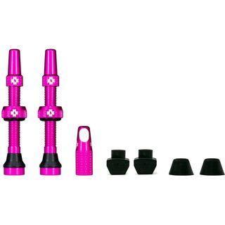 Muc-Off Tubeless Presta Valve - 44 mm pink