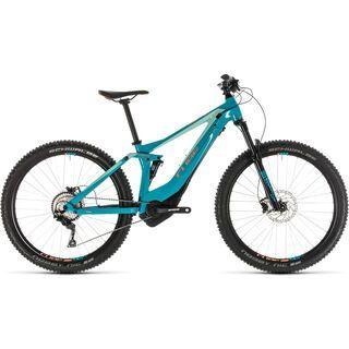 Cube Sting Hybrid 120 Race 500 27.5 2019, turquoise´n´apricot - E-Bike