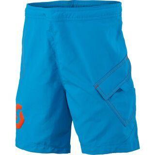 Scott Junior Trail 20 ls/fit Shorts, diva blue/tangerine orange - Radhose