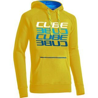 Cube Hoody Cube Mirrored Letters yellow´n´white´n´blue