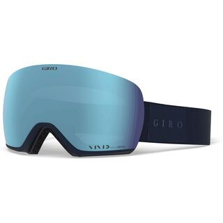 Giro Article inkl. WS, midnight mono/Lens: vivid royal - Skibrille