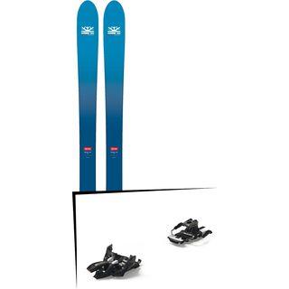 Set: DPS Skis Wailer F106 Foundation 2018 + Marker Alpinist 9 Long Travel black/titanium