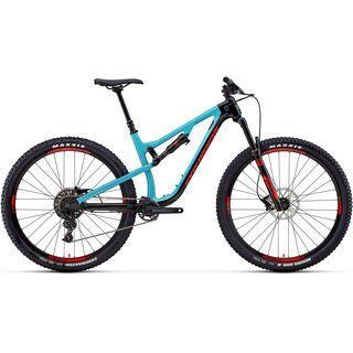 Rocky Mountain Instinct Carbon 30 2018, black/ocean/red - Mountainbike