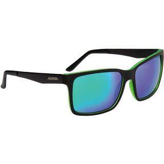 Alpina Don Hugo, black matt green/Lens: ceramic mirror green - Sonnenbrille