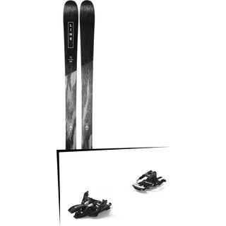 Set: Line Supernatural 86 2019 + Marker Alpinist 12 Long Travel black/titanium