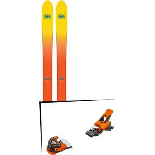 Set: DPS Skis Wailer F112 2017 + Tyrolia Attack 16 (1715200)