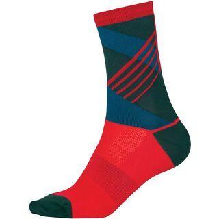 Endura SingleTrack Sock, petrol - Radsocken