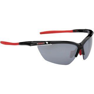 Alpina Guard 2.0, black-red/Lens: ceramic mirror black - Sportbrille