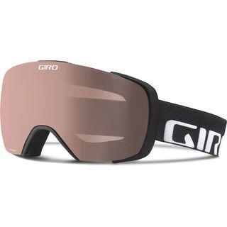 Giro Contact + Spare Lens, black wordmark/polarized rose - Skibrille