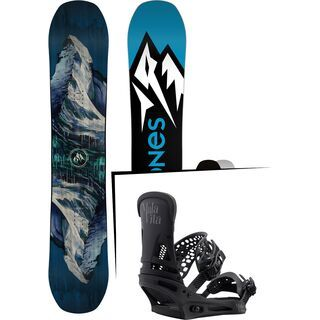Set: Jones Mountain Twin 2017 + Burton Malavita (1712843S)