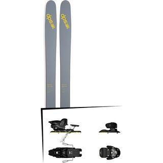 DPS Skis Set: Wailer 112 RPC Pure3 2016 + Salomon Warden MNC 13