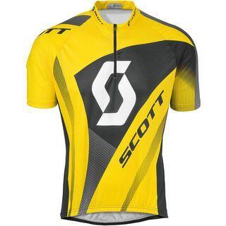 Scott Authentic s/sl Shirt, rc yellow - Radtrikot