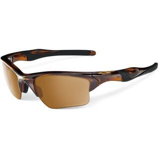 Oakley Half Jacket 2.0 XL, Polished Rootbeer/Bronze Polarized - Sportbrille