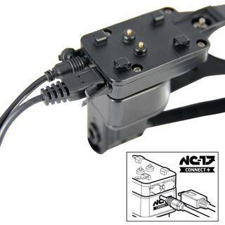 NC-17 Connect+ Ladehalter Ersatz für zweites Bike, black - Halterung