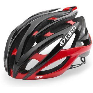 Giro Atmos II, bright red black - Fahrradhelm