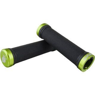 Spank Subrosa Grips, black/emeral green - Griffe