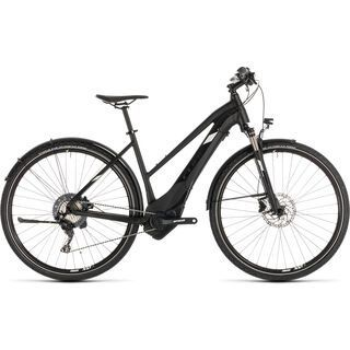 Cube Cross Hybrid Race Allroad 500 Trapeze 2019, black´n´white - E-Bike