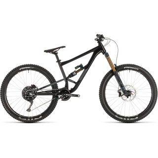 Cube Hanzz 190 TM 27.5 2019, black´n´grey - Mountainbike