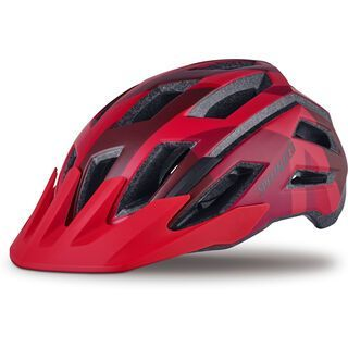 Specialized Tactic III, red fractal - Fahrradhelm