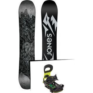 Set: Jones Ultra Mountain Twin Wide 2019 + Bent Metal Transfer green