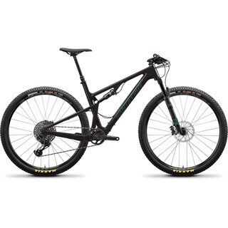 Santa Cruz Blur C S TR 2020, carbon/aquarius green - Mountainbike