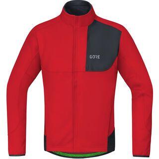 Gore Wear C5 Gore Windstopper Thermo Trail Jacke, red/black - Radjacke