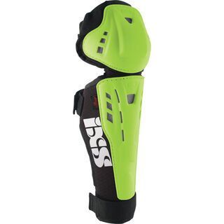 IXS Hammer-Series Knee Guard Kids, green - Knie/Schienbeinschützer